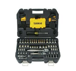 DEWALT Mechanics Tools Kit and Socket Set, 108 Piece DWMT738