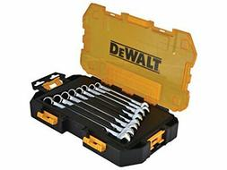 Metric Wrench Set 8 Tool Dewalt Combination Kit Piece Dwmt73