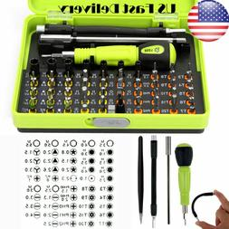 53 in1 Multi-Bit Screwdriver Set Repair Kit Opening Tools Fo