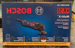 Bosch MX25EC-21 2.5 Amp Multi-X Oscillating Tool Kit