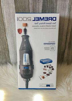 NEW Dremel 200 Series 200-1/15 High Performance Two Speed Ro