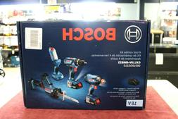 NEW! Bosch 4 Tool Combo Kit 18V  SEALED - FREE SHIPPING!