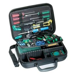 NEW Electronic Basic Tool Kit w/ case Electrician Service Re