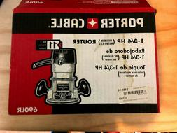 New in Box PORTER-CABLE 690LR 11-Amp Fixed-Base Router
