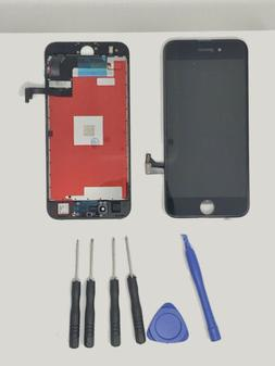 New iPhone 7 LCD Screen Replacement Black W/Tool Kit, & Free