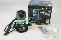 NEW Hitachi M12VC 2.25 HP Corded Fixed Base Router