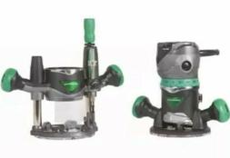 New Metabo Variable Speed Fixed Plunge Router Kit 2-1/4 Peak