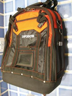 NEW WORKPRO Multi-Functional Tool Backpack Tradesman Organiz