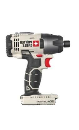 """NEW Porter Cable 20v Max Lithium Ion 1/4"""" Inch Impact Driver"""