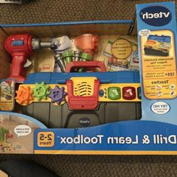 NIB VTECH DRILL AND LEARN TOOLBOX PLAYSET BOY TOY ***AGES 2