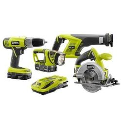18-Volt ONE+ Lithium-Ion Combo Kit