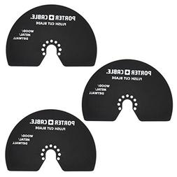 Porter-Cable PC3013 Oscillating Flush Cut Blade 3-Pack