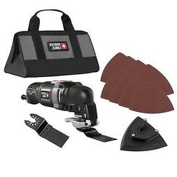 NEW PORTER-CABLE 3 Amp 11 Pc Oscillating Multi-Tool Kit! Bes