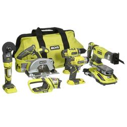 p884 18v one lithium 6 tool combo