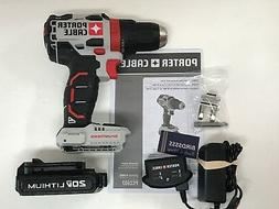 """Porter Cable PCC607 20V Max Lithium-Ion Brushless 1/2"""" Drill"""