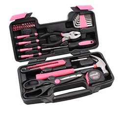Cartman Pink 39-Piece Tool Set - General Household Hand Tool