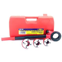 """Pipe Threading Tool with Ratchet Handle - 1/2"""", 3/4"""", 1"""""""