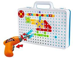 Drill & Play Creative Educational Mosaic Construction STEM B