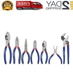 Pliers Set Mechanic Tools Long Nose Slip Joint Plier Craftsm