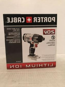 """Porter Cable 20V Max Li-Ion 1/4"""" Impact BARE TOOL ONLY PCC"""