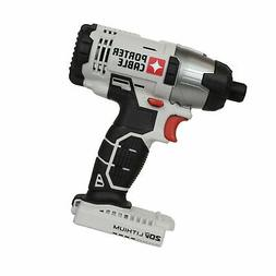 """Porter Cable 20v Max Lithium Ion 1/4"""" Hex Impact Driver"""