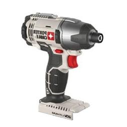 "Porter Cable 20v Max Lithium Ion 1/4"" Hex Impact Driver"