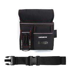 WORKPRO Tool Pouch for Woodworking with Belt Included