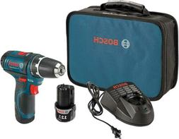 """Bosch Power Tools Drill Kit - PS31-2A - 12V, 3/8"""", Two Speed"""