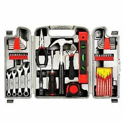 53Pc Home Hand Tool Set Kit Household Mechanics Remover Repa