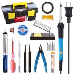 Precision Soldering Gun Micro Pen Heavy Duty Kit Small Elect