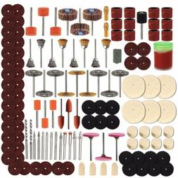 Pro 350pcs/Set Rotary Tool Accessory Kit For Grinding Sandin