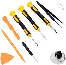 Repair Kit with Tools for iPhone 4, 5, 5S, 5C, 6, 6S, 7, Sam