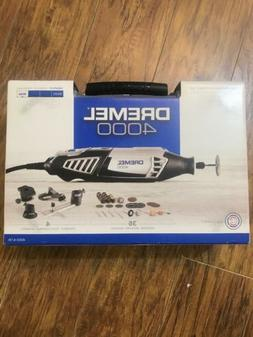 NEW Dremel High Performance Rotary Tool Kit 4000. 4 Attachme