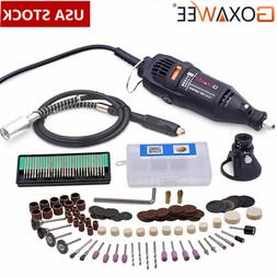Goxawee Rotary Tool Kit Electric Mini Drill Accessory Set fo