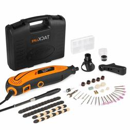 TACKLIFE Rotary Tool Kit Variable Speed with Flex shaft, 80