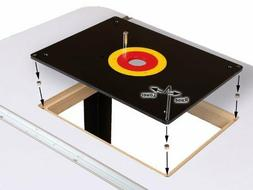 ROUTER TABLE INSERT PLATE W/ GUIDE PIN & SNAP RINGS, fits Po