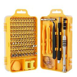 Trekoo Screwdriver Set, 110 in 1 Precision Screwdriver Repai