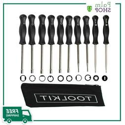 Screwdriver Set Adjustment Tool Kit,Tune-up Adjusting for Co