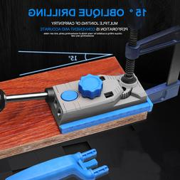 Self Centering Doweling Jig Kit Drill Guide Wood Hole Woodwo