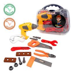Koru Kreative KORU Kids Tool Set Play Toy with Electronic Co