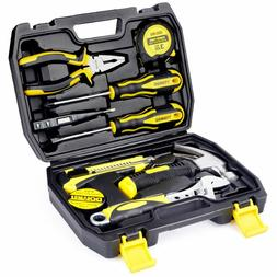 DOWELL Small Homeowner Tool Set , 9 Piece General Household