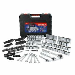socket set 230 piece mechanics tool kit