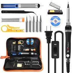 Tabiger Soldering Iron kit with Adjustable Temp 200-450°C a