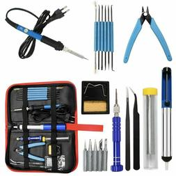 Soldering Iron Kit Electrical Welding Tool Gun 60W 110V Set