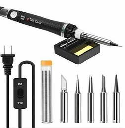 Soldering Iron Kit Electrical Welding Tool Set Solder Statio