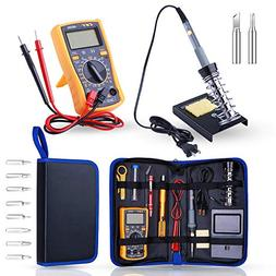 Soldering Iron Kit Electronics, Rarlight 60W Adjustable Temp