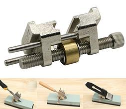 LepoHome Stainless Steel Honing Guide with Brass Roller for