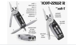 Swiss Tech T-Rex Pocket Tool Kit 7 Tools Knife Multi Tactica