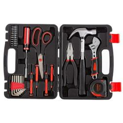 Stalwart Tool Kit - 28 Heat-Treated Pieces with Carrying Cas