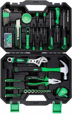 Tool Kit for Home,100 Pieces Home Repair Basic Tool Kit Sets